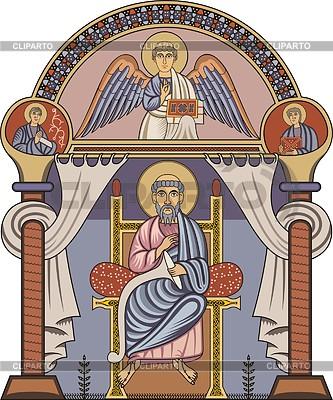 St. Matthew | Klipart wektorowy |ID 2026997
