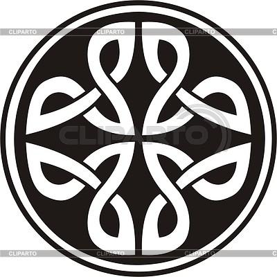 Celtic knot | Klipart wektorowy |ID 2019928