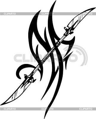 Klinge Tattoo | Stock Vektorgrafik |ID 2014154