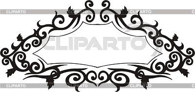 Ornamental panel | Klipart wektorowy |ID 2004187