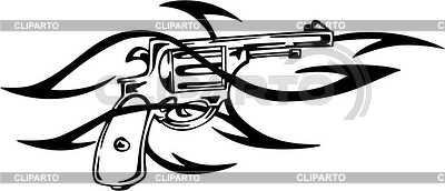 Revolver Tattoo | Stock Vektorgrafik |ID 2014227