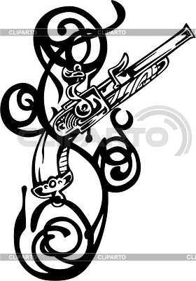 Revolver Tattoo | Stock Vektorgrafik |ID 2019013