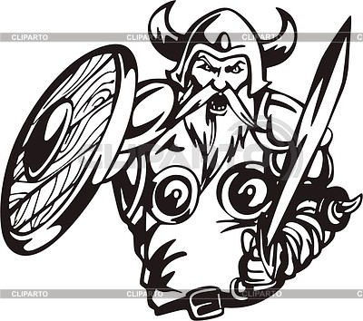 Viking | Klipart wektorowy |ID 2018378