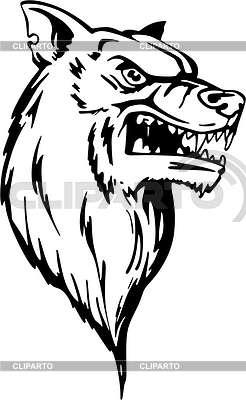 Wolf | Klipart wektorowy |ID 2015312