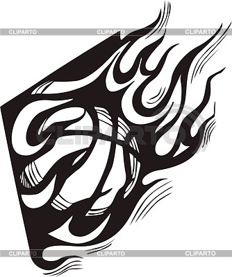 Basketball Flamme | Stock Vektorgrafik |ID 2020840