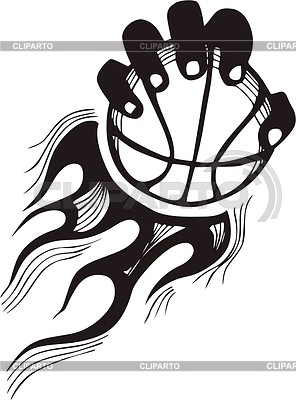 Basketball Flamme | Stock Vektorgrafik |ID 2020842