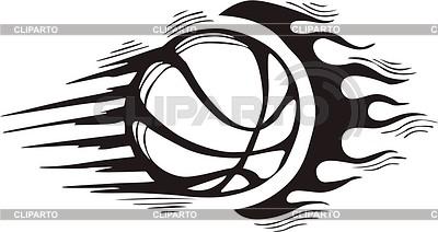 Basketball flame | Klipart wektorowy |ID 2020843