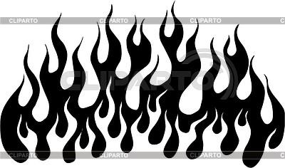 Flame | Klipart wektorowy |ID 2016625