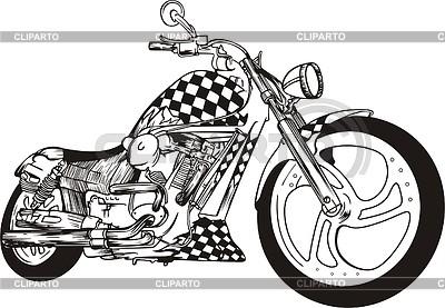 Motorcycle | Klipart wektorowy |ID 2019446