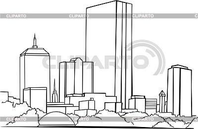 Sehenswürdigkeiten in boston vector images com