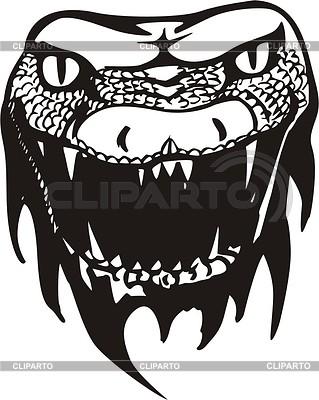 Schlangenkopf Tattoo | Stock Vektorgrafik |ID 2003087
