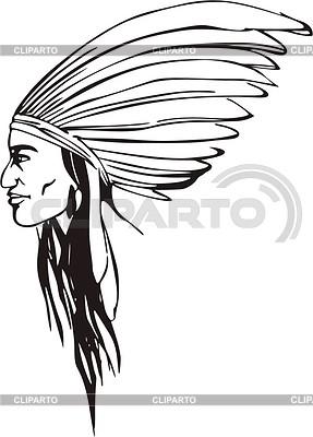 American Indian | Klipart wektorowy |ID 2020656