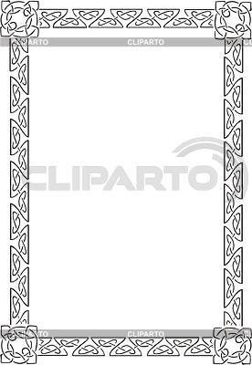 Keltischet Rahmen | Stock Vektorgrafik |ID 2004172