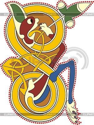 Keltischer Buchstabe S | Stock Vektorgrafik |ID 2023648