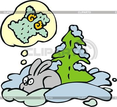 Rabbit cartoon | Klipart wektorowy |ID 2022150