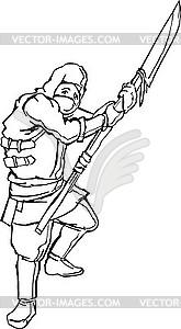 Ninja Krieger - Stock Vektor-Bild