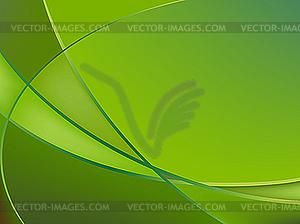 Abstrakter grüner Hintergrund - vektorisierte Grafik