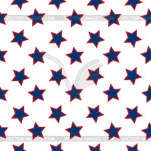 Hintergrund mit Sternen - vektorisiertes Clipart