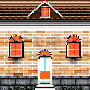 Haus - Vektor-Design