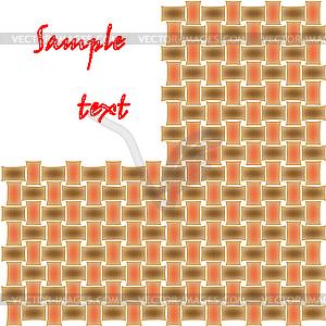 Gespinst-Muster - Vektor-Bild