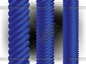 Blaue vertikale Spalten - Vektor-Klipart