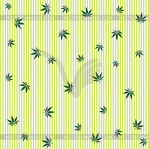 Cannabis-Textur - Vector-Design