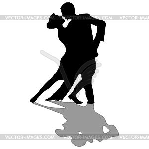 Tänzer-Silhouetten - Vector-Illustration