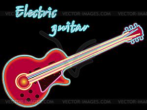 Elektrische Gitarre - Stock-Clipart