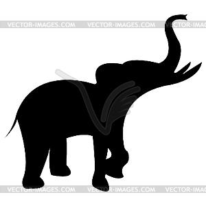 Elefant - Vektor-Bild