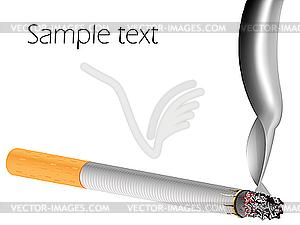 Filterzigarette - Clipart-Design