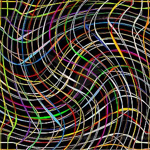 Abstrakte Streifen - Vektor-Clipart / Vektorgrafik