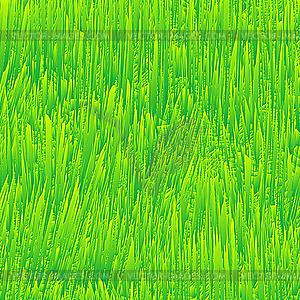 Frisches Gras, Textur - farbige Vektorgrafik