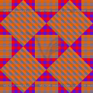 Quadratisches Muster - vektorisierte Abbildung