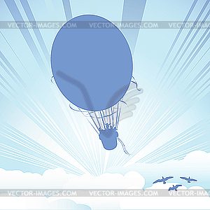 Luftballoon - Vektor-Clipart / Vektor-Bild