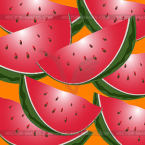 Wassermelone - Vector-Design