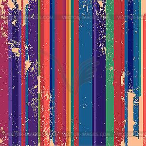 Retro-Streifen - vektorisiertes Clip-Art
