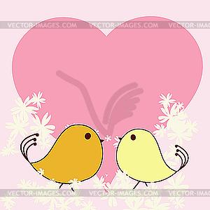 Valentinstagkarte - Vector-Clipart / Vektorgrafik