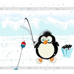 Pinguin - Vektorgrafik