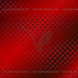 Rotes Metallplatte-Muster - Clipart-Bild