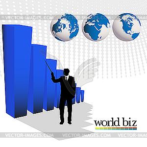 Business-Grafik - Vektor-Clipart EPS