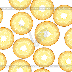 Ananas-Hintergrund - vektorisierte Grafik