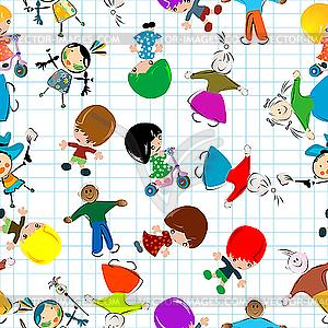 Kinder - Vector-Clipart / Vektor-Bild