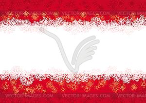 Weihnachtsgrüßkarte - Vektor-Klipart