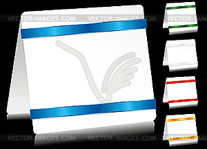 Papierblätter - Stock Vektor-Bild