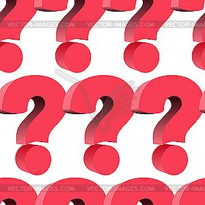 Hintergrund aus Fragezeichen - Vektor-Clipart / Vektor-Bild