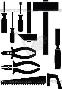 Set von Werkzeugen - vektorisiertes Clip-Art