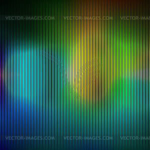 Hintergrund mit bunten Linien - Vector Clip Art