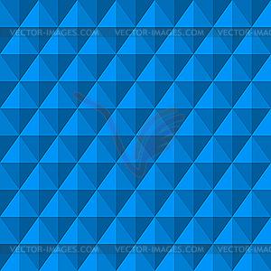 Hintergrund mit blauen 3D-Diamanten - Vector Clip Art