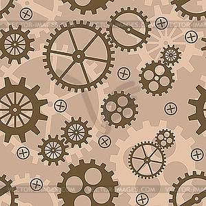 Hintergrund mit Mechanismus - Vektor-Clipart / Vektorgrafik