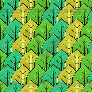 Hintergrund mit grünem Blatt - Klipart